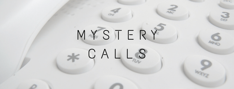 mystery calls